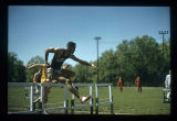Indiana Collegiate Conference track meet at Ball State Teachers College, 1956