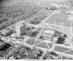 Aerial view of Ball State University