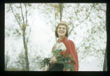 Ball State Teachers College Homecoming Queen Rosie Fisher, 1957
