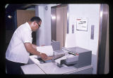 Ball State University Library Xerox copy machine