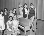 Miss Ball State finalists, 1969