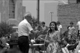 Muncie Symphony Orchestra performance in Muncie Downtown Plaza, 1978