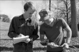 Ball State University students participate in an outdoor Natural Resources lab