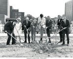 Bracken Library groundbreaking