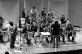 Ball State University Jazz Lab Ensemble performs with Jazz musician James Moody