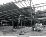 Whitinger Business Building construction