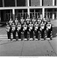 Ball State University Marching Band brass section