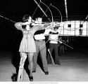 Ball State University archery class