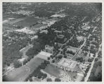 Aerial view of Ball State Teachers College