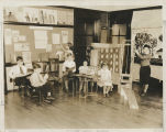 Burris Laboratory School students