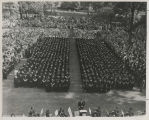 Ball State Teachers College Commencement, 1951