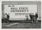 Now it's Ball State University sign