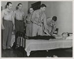 Ball State Teachers College Army Specialized Training Program physical examination