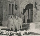 Ball State Teachers College War Training Service cadets at Elliott Hall