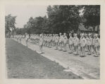 Ball State Teachers College War Training Service cadets in formation
