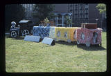 Ball State University Homecoming decorations, 1978
