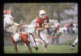 Ball State University Cardinals vs. Illinois State University Redbirds football, 1977
