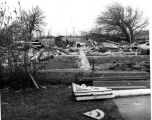 Tornado Destruction of rural property
