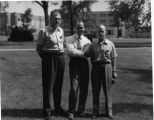 1928 Class Reunion -- Bernard Garber, Richard Parrish and Ed Dean