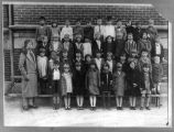 McKinley School, First Grade (Muncie Star, Album of Yesteryear)