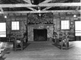 Girl Scout Camp -[Lodge and Dining Hall, interior]