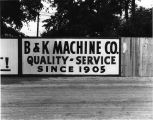 B - K Machine Company