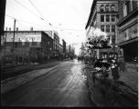 Walnut Street (Muncie), looking north from W. A. McNaughton Store