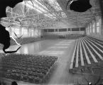 Ball Gymnasium, interior